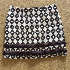 NWOT Women's Fringe Skirt Size 12